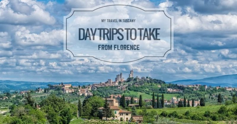 Day trips to take from florence