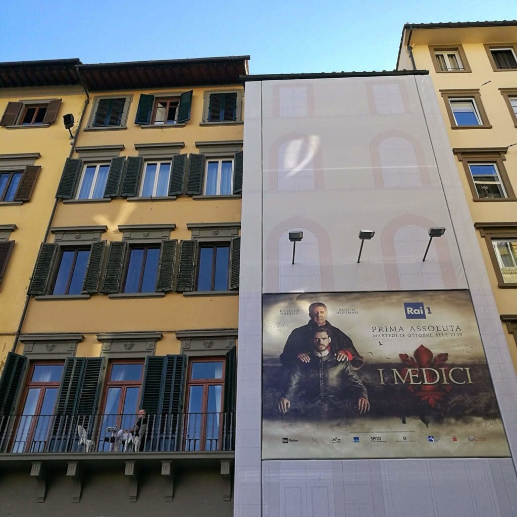 Medici Advertisement in Florence