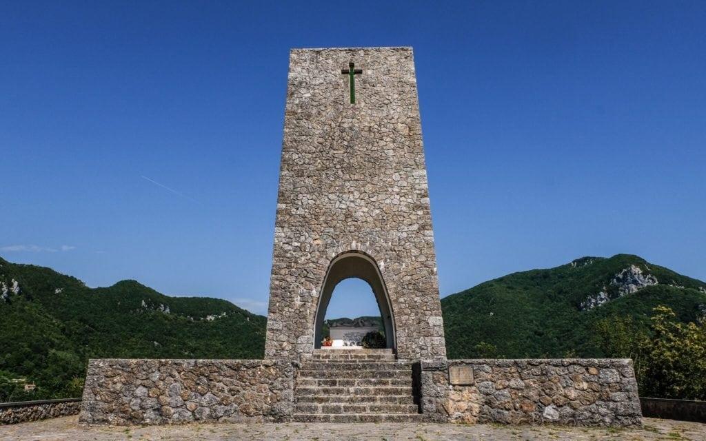Ossuary Sant'anna di stazzema 25 April Commemoration