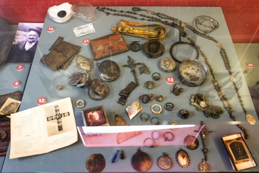 victim relics Sant'Anna di Stazzema