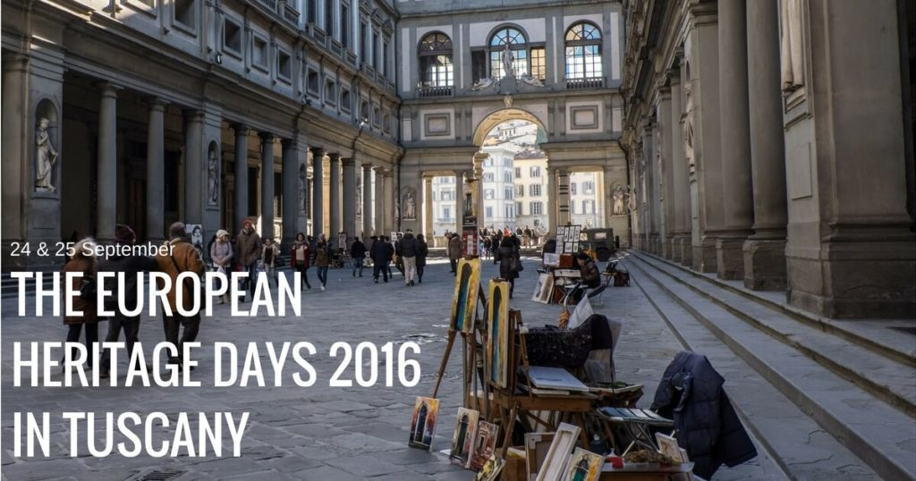 European Heritage Days 2016 in Tuscany