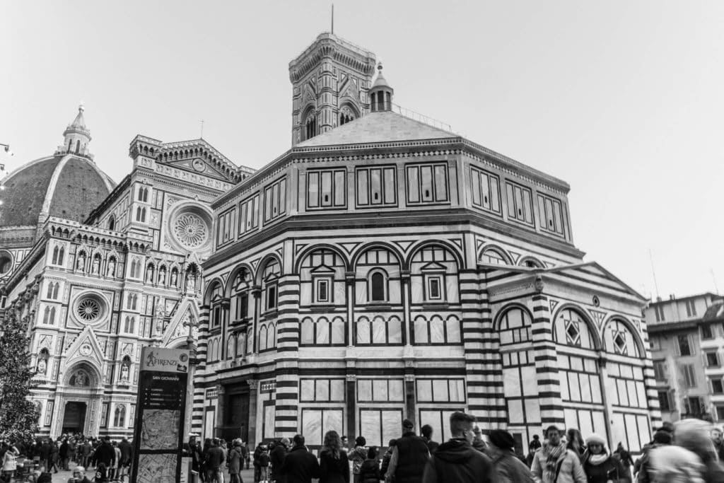 The Baptistery of Florence