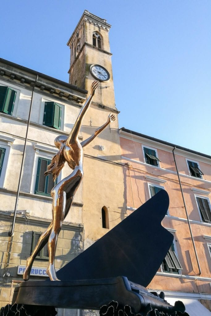 Surrealist Piano Salvador Dalì in Pietrasanta