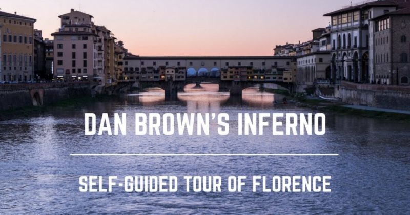 Dan Brown's Inferno self-Guided Tour of Florence