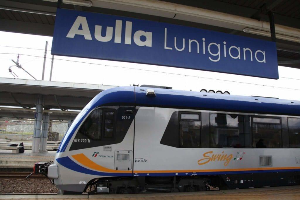 Lunigiana tuscany by train
