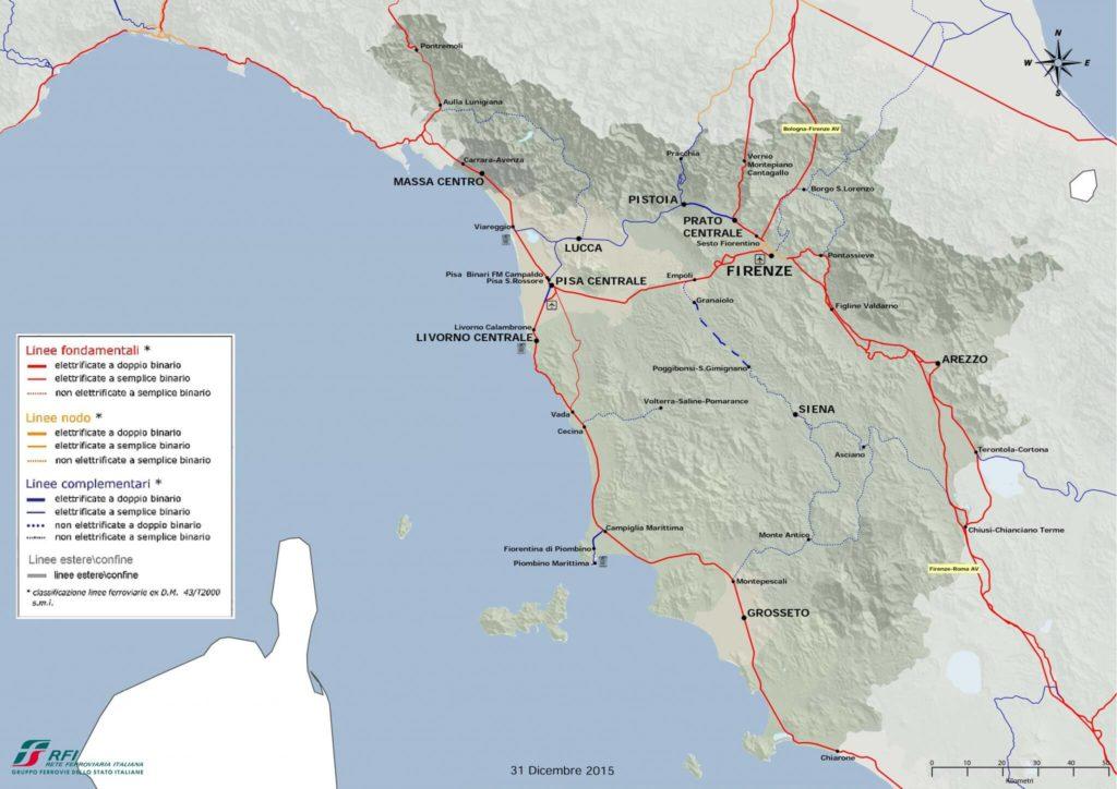 tuscany railway system