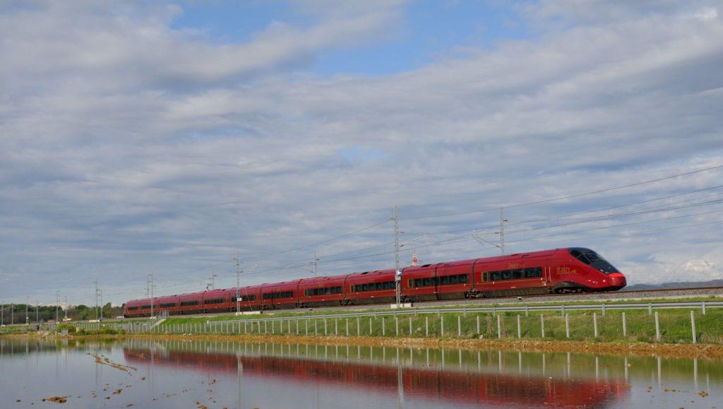 Italo tuscany by train