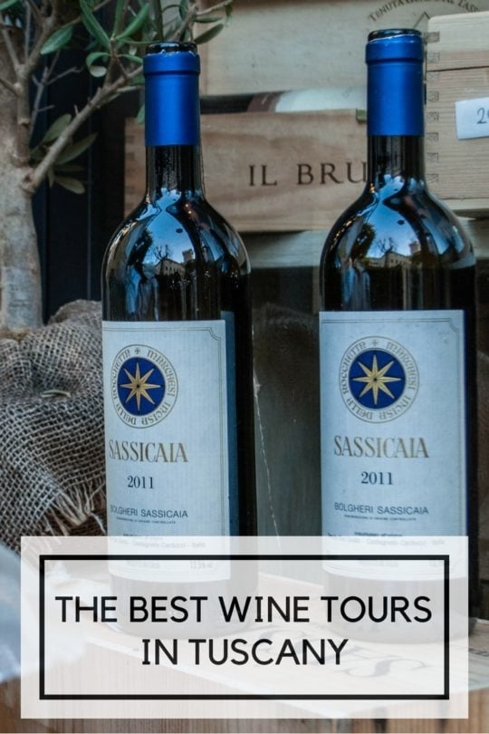 The best wine tours in Tuscany pinterest