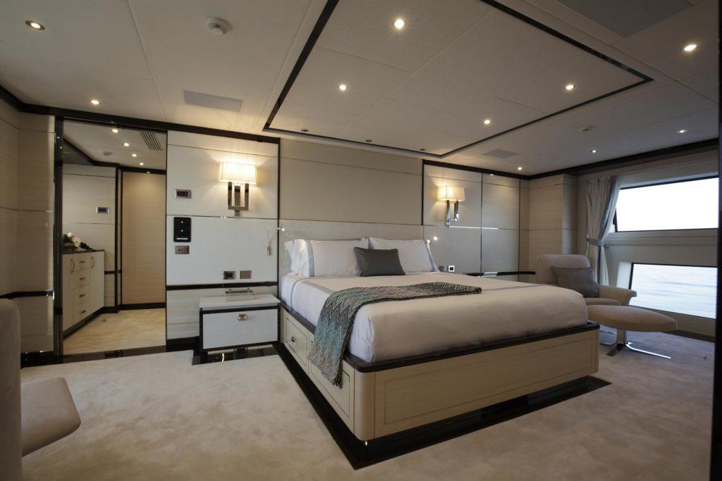 room on a yacht