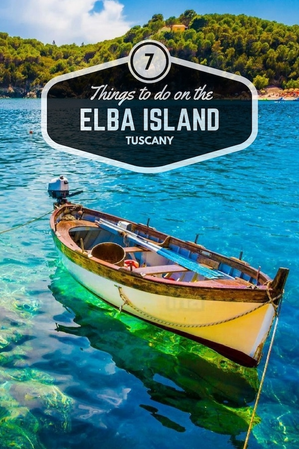 Things to do on the Elba Island Cover for Pinterest