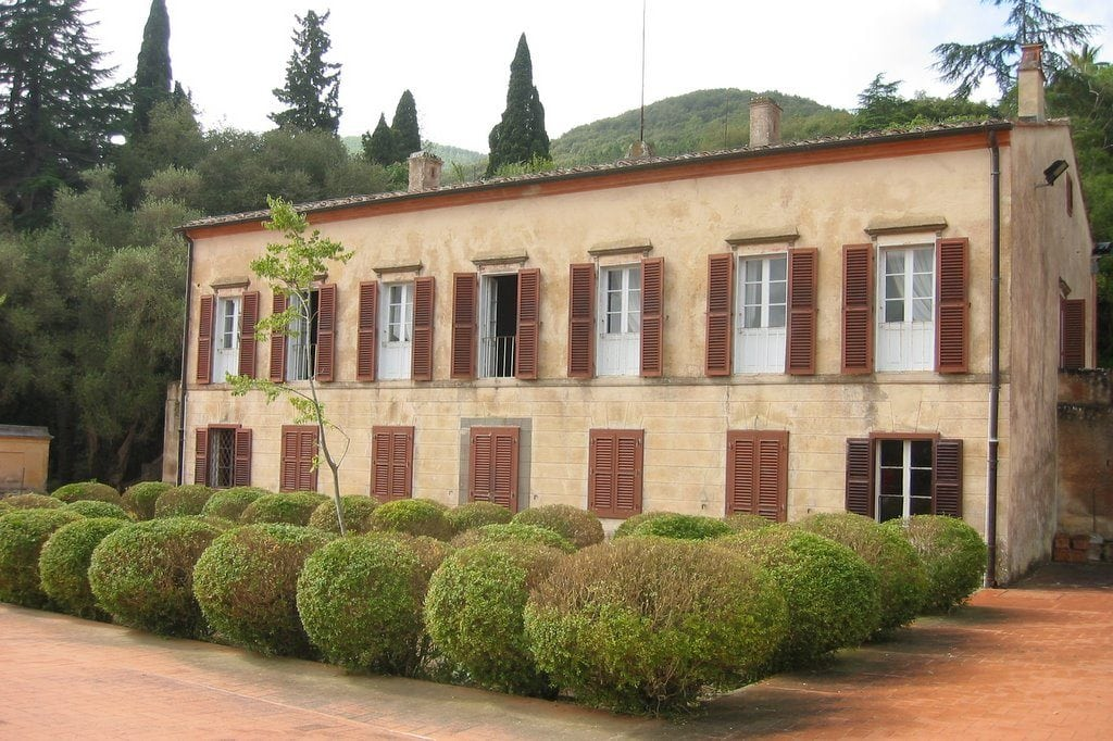 Villa San Martino where Napoleone spent his esile on the Tuscan Island