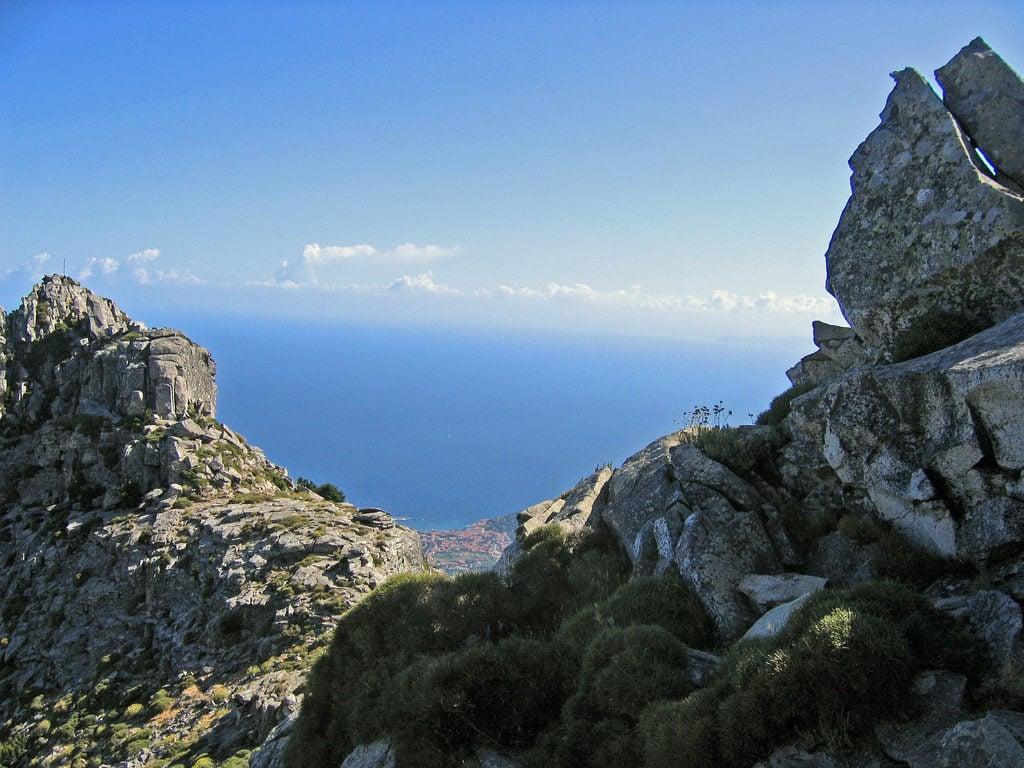 Monte Capanne on Elba Island
