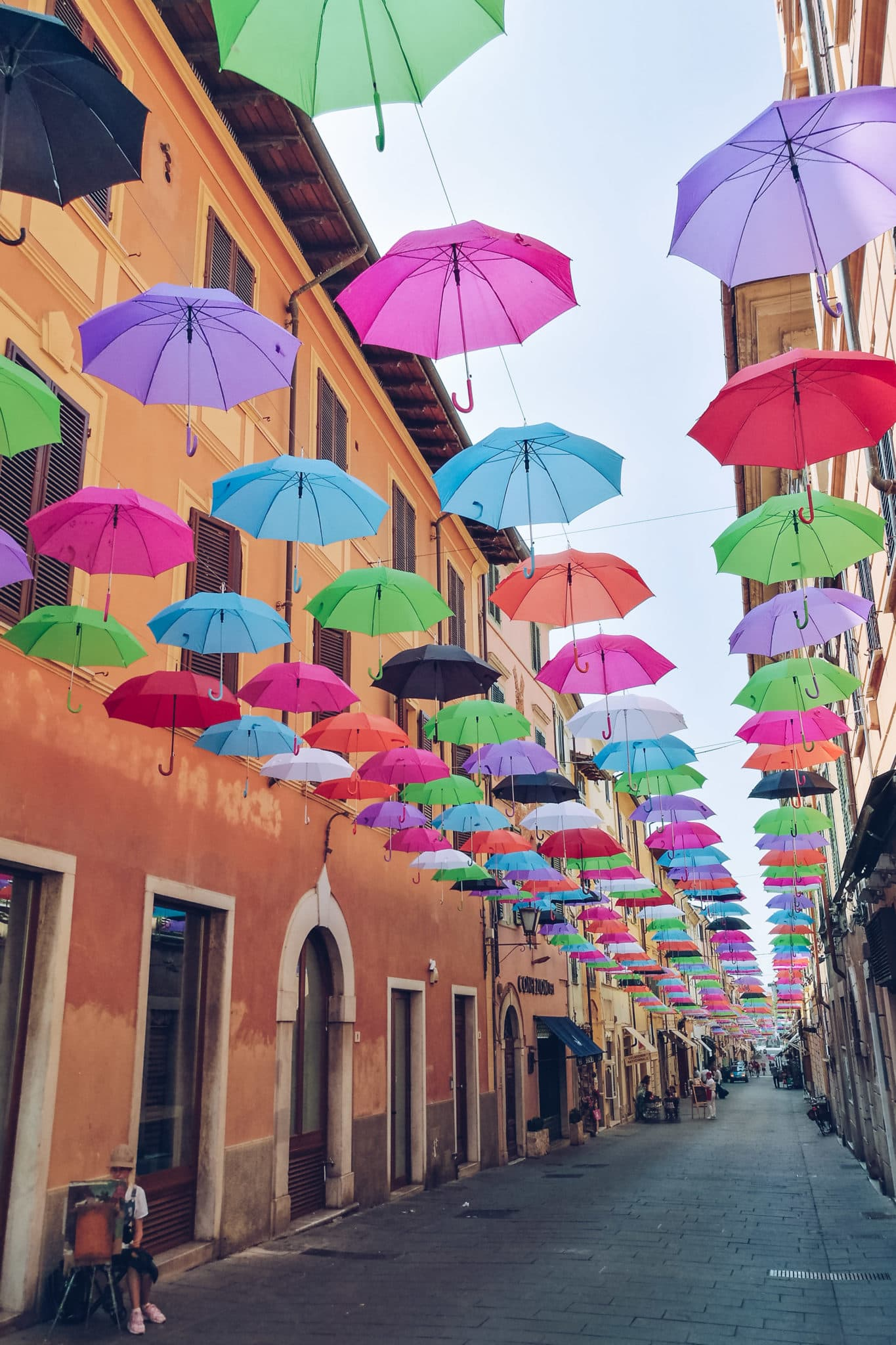 Floating Umbrellas In Pietrasanta My Travel In Tuscany