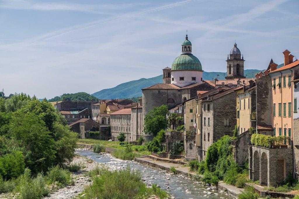 Magra River Pontremoli Tuscany