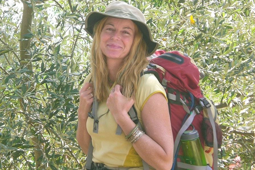 Chandi Wyant the Author of Return to glow_walking_the_Via_Francigena