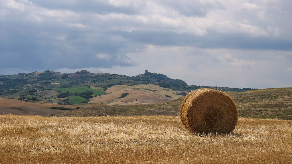 Tuscan Landscape along the Via Francigena