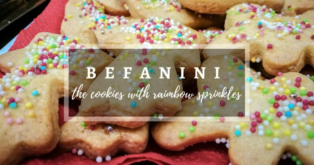 Befanini cookies