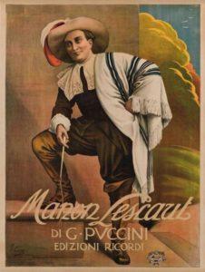Manon Lescaut opera by Puccini Festival