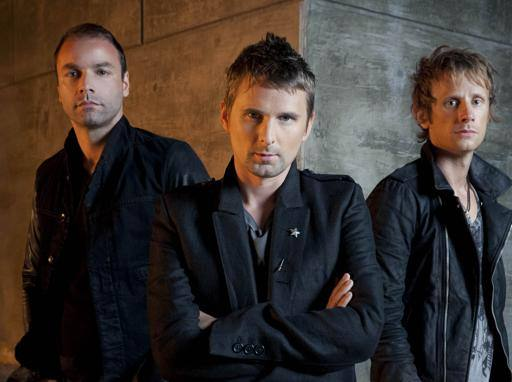 The trio of Muse rock band