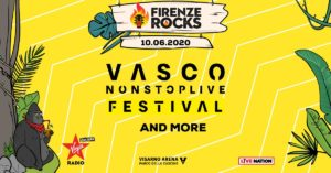 Firenze Rocks 2020 Vasco Rossi