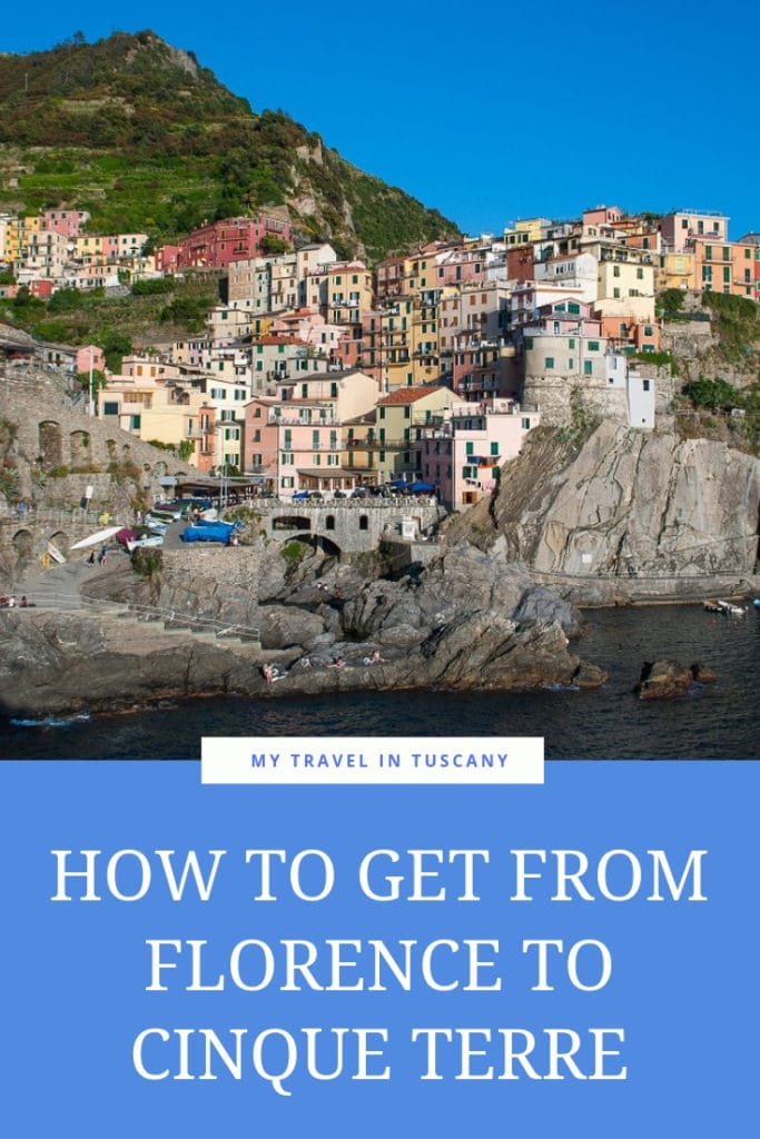 From Florence to Cinque Terre Cover Pinterest