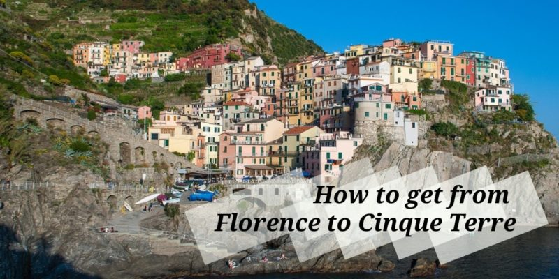 How to get From Florence to Cinque Terre Cover