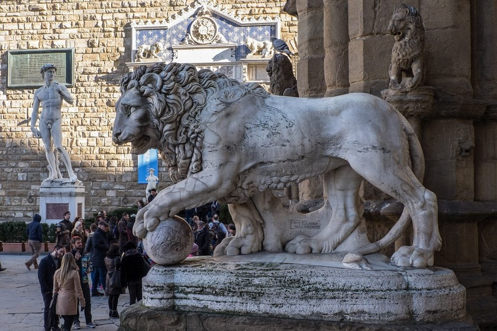 Florence in Summer, Piazza della Signora