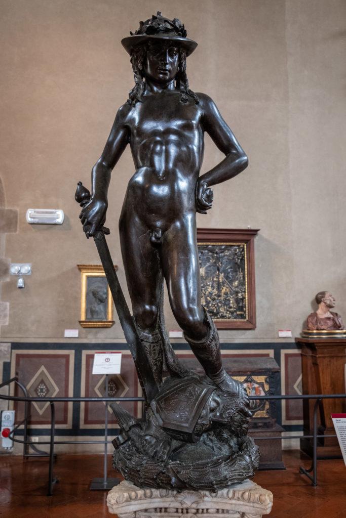 Donatello's David at Bargello Museum
