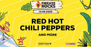 Red Hot Chili Peppers at Firenze Rocks 2020