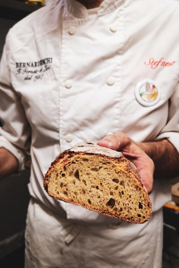 Bernardeschi Bakery Lari, Valdera in Tuscany