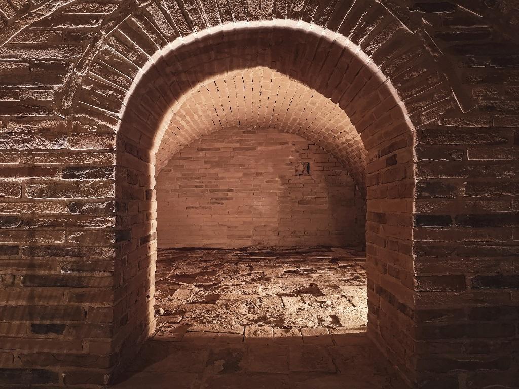 Old pottery Kiln, Ceramic Museum Valdera in Tuscany
