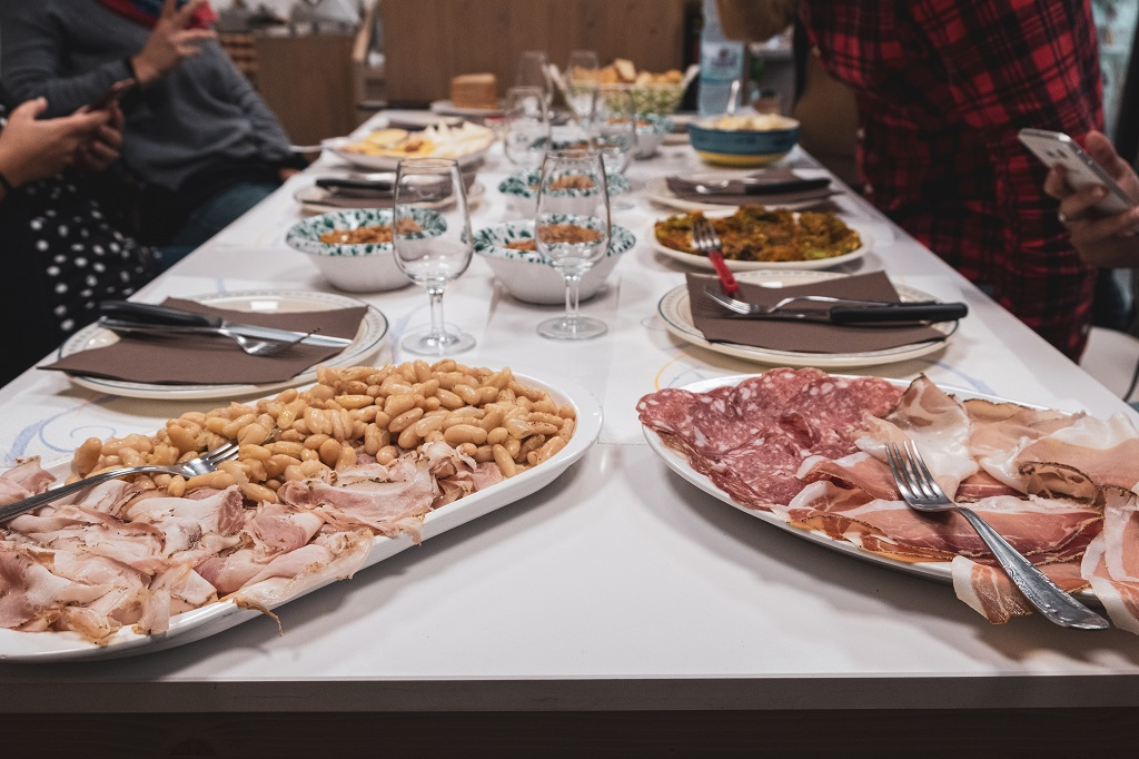 Traditional Tuscany Food at Eat Valdera in Tuscany