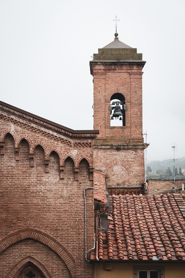 The church of Lari, Valdera in Tuscany