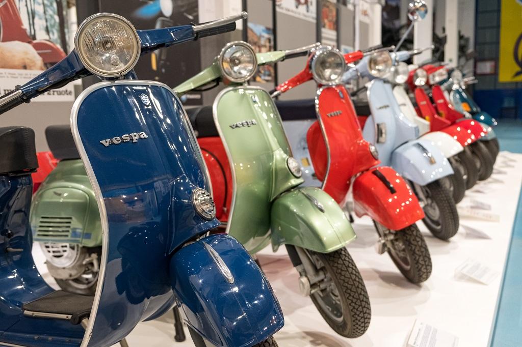 Vespa collection, Piaggio Museum Pondera, Valdera in Tuscany