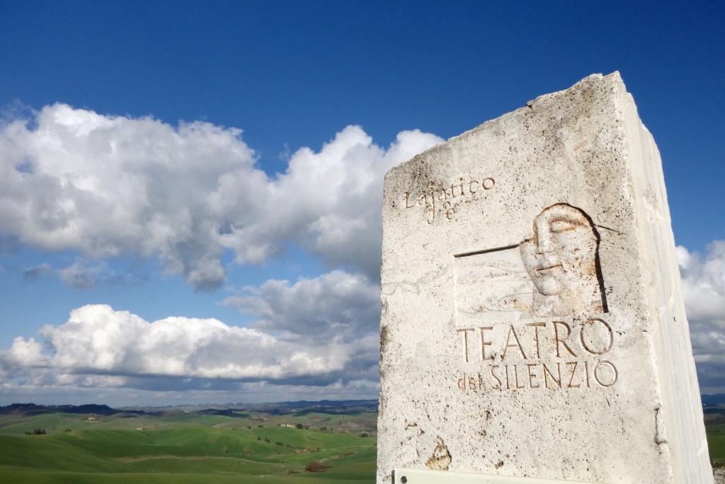 Theatre of the silence Lajatico Valdera in Tuscany