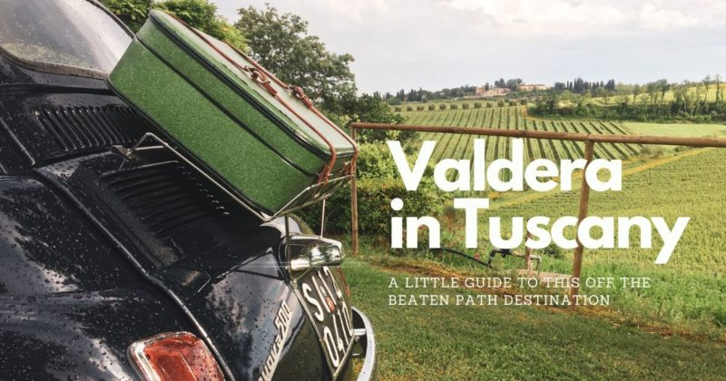 Valdera In Tuscany Blog Post Cover