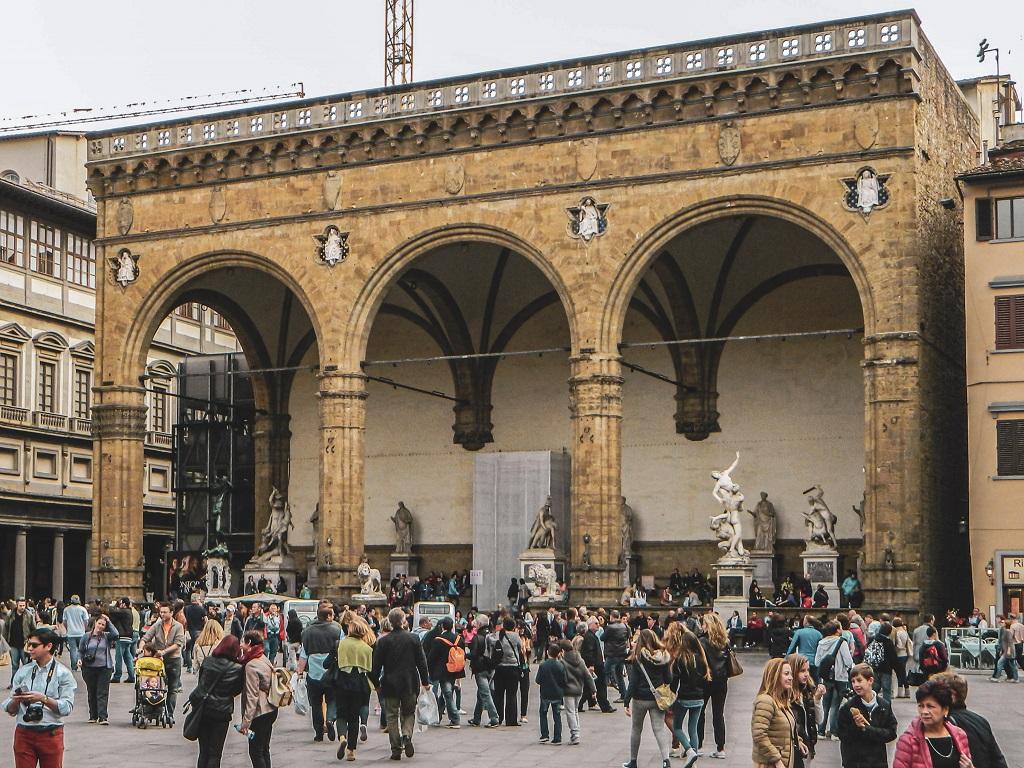 Loggia in Piazza Signoria Florence