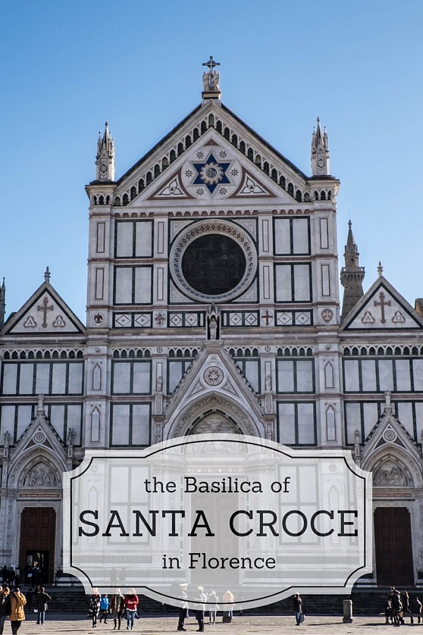 Cover of blog post of Santa Croce church