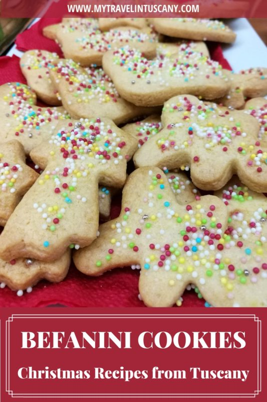 Befanini Cookies, cover for Pinterest