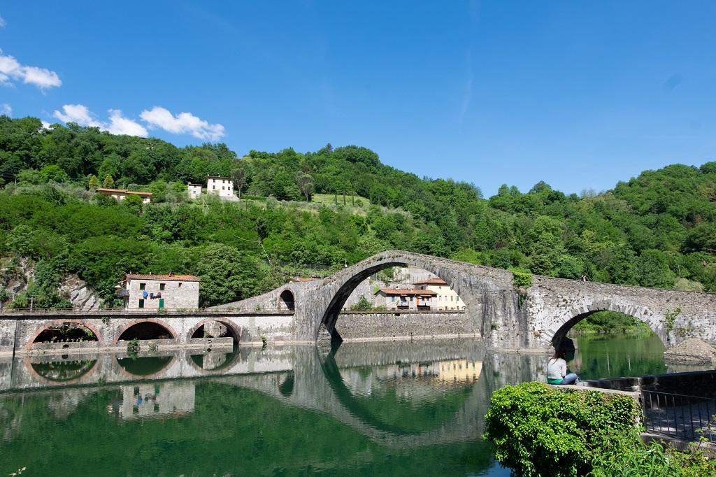 Borgo a Mozzano, the Devil's Bridge
