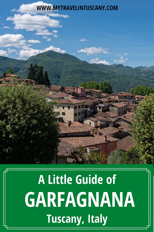 Cover Photo for Pinterest, Little guide of Garfagnana Tuscany Italy