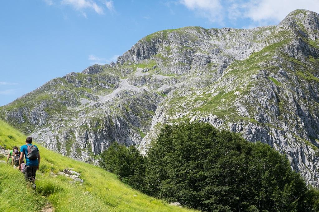 Pania della Croce Garfagnana Mountains