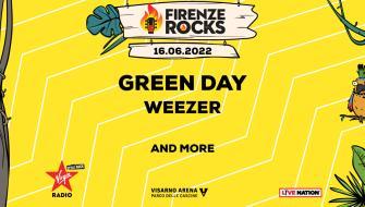 Green Day Post for Firenze Rocks Festival 2022