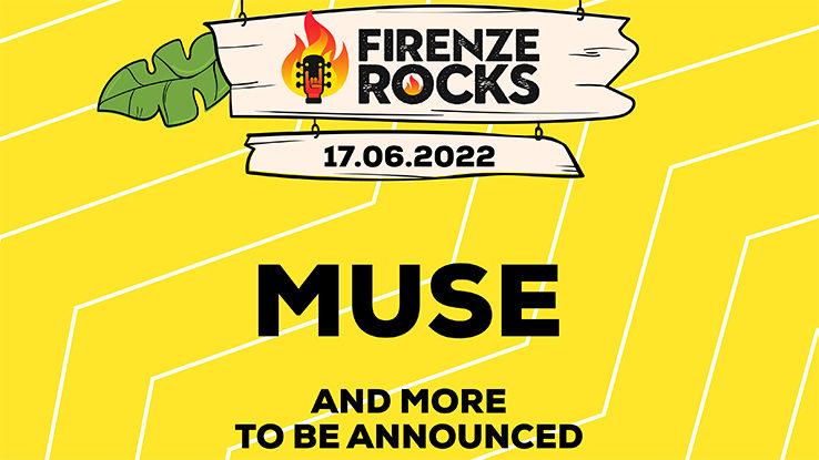 Muse Post for Firenze Rocks Festival 2022